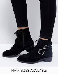 womens ankle boots size 12 wide ankle boots flat heeled ankle booties asos