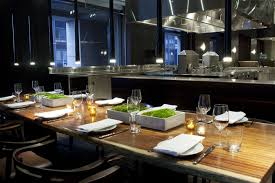 chef s table nyc restaurants behind the open kitchen is a 12 seat chef s table andaz wall street