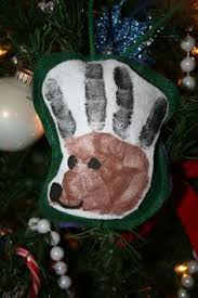 reindeer handprint ornaments if only i were crafty