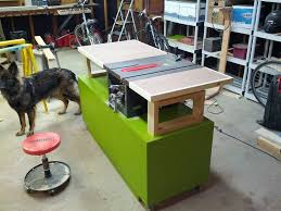 Shopmaster Table Saw Rusty Old Table Saw Turned Into A Workstation Worthy Of A Master