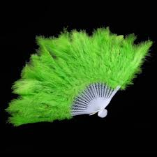 feather fans online shop 1 pcs showgirl feather fans folding