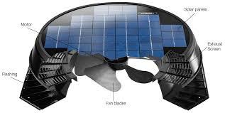 solar star fans advanced solar powered attic ventilation solatube