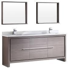 2 Sink Bathroom Vanity Amusing Fresca Allier 72 Modern Sink Bathroom Vanity With