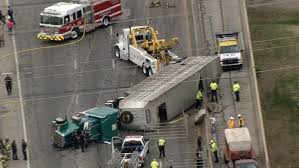 ft worth tx cattle truck crash dallas news semi trailer
