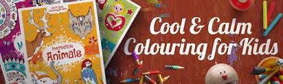 cool u0026 calm colouring for kids baby animals carlton books