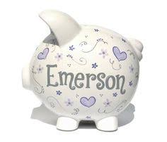 monogrammed piggy bank always the princess jeweled piggy bank piggy banks banks and