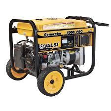 valsi 5 000 watt kohler command gasoline powered pro portable