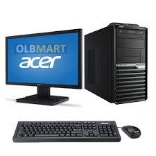 ordinateur acer de bureau pc de bureau acer pdc g3260 4gb 500gb ecr 19 5