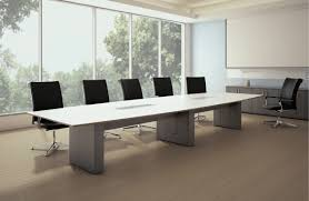 Grey Meeting Table Boardroom Ft Foot Conference Table Custom Solid Wood Tables