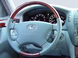 2006 lexus ls430 review 2006 lexus ls430 steering wheel interior photo automotive com