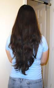 long shag hairstyle pictures with v back cut long layered hair v shape back view haircuts ideas pinterest
