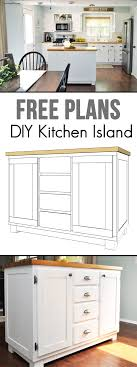 Build Your Own Kitchen Cabinets Free Plans Modern Cabinets - Kitchen cabinets diy plans