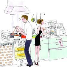 faire la cuisine faire la cuisine parisienne food illustrations