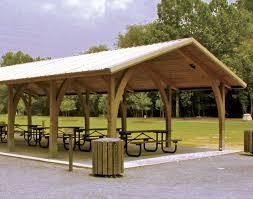 14x14 Outdoor Gazebo by Wood Open Knee Phoenix Rectangle Pavilions Pavilions By Shape