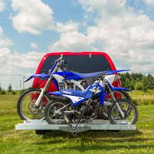 motocross bike carrier aluminum double motorcycle carrier amc 600 2 discount ramps