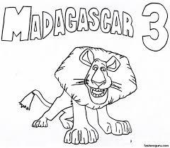 madagascar book coloring