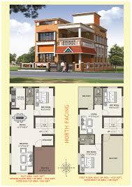 House Plans With Vastu North Facing by Essen Residency Floor Plan Essen Construction Bbsr