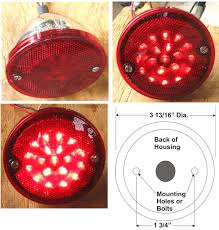 Led Tail Light Bulbs For Trucks by 61 66 Fordtruck Lights And Light Asemblies