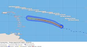 Caribbean Weather Map by Hurricane Danny Moving Closer To The Caribbean Firsthand Weather