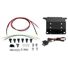 to warn winch wiring grizzly yamaha kodiak 700 winch installation