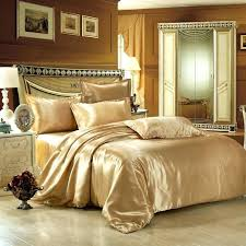 Silk Duvet Cover Queen Duvet Covers Gold Color U2013 De Arrest Me