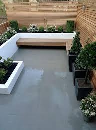 Cement Backyard Ideas Backyard Landscape Design - Concrete backyard design ideas