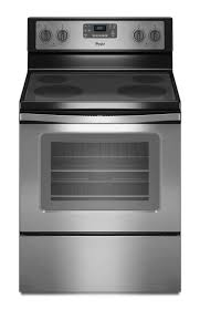 Affresh Cooktop Cleaner 5 3 Cu Ft Freestanding Electric Range With Easy Wipe Ceramic