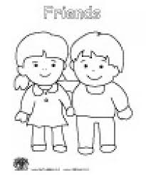 friendship coloring pages preschool friendship coloring