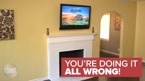 television over fireplace excellent why a tv should never be mounted over fireplace