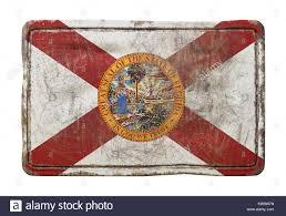 Florida State Flag Image 3d Rendering Für Eine Florida State Flag über Eine Rostige