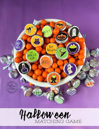 happy birthday halloween theme it u0027s written on the wall sweet halloween matching game with