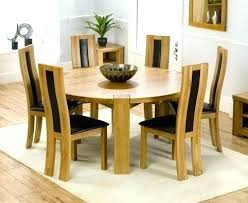 round kitchen table seats 6 round dining table for 6 8 excellent round dining table size for