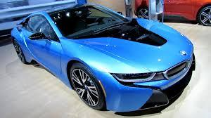 bmw blue interior 2015 bmw i8 exterior and interior walkaround 2014 york
