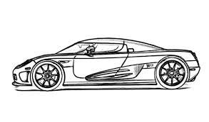 super fast car bugatti car coloring pages place color