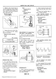 1983 nissan diesel engine sd22 sd23 sd25 sd33 sd33t service manual