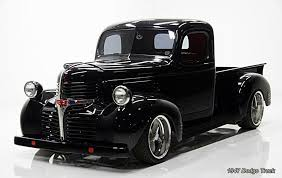 dodge com truck mopars trucks 1930s through 1940s