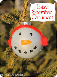 easy snowman ornament tutorial peek a boo pages patterns fabric