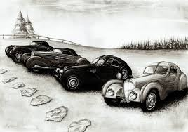 bugatti car drawing bugatti type 57 four in one by medvezh on deviantart