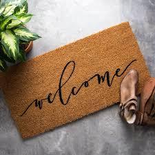 Come In And Go Away Doormat The 25 Best Coir Doormat Ideas On Pinterest Coir Doormats And