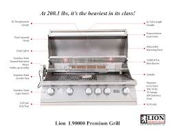 Backyard Grill 5 Burner by Best Of Backyard Lion Premium Grills U2013 L90000 40 U2033 Gas Grill