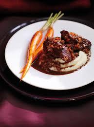 cuisine joue de boeuf joues de veau braisées sauce au cacao ricardo