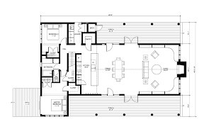 Cabin Blueprint One Floor Small House Plans Luxamcc Org