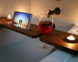 Wine Glass Holder For Bathtub Bathtub Shelf Etsy