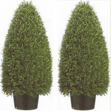 Topiary Plants Online - artificial cone topiary rosemary bush artificial topiary plants