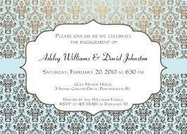 engagement invitations templates invitation templates