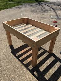 Lowes Barrel Planter by Diy Raised Bed Planter 16 Steps With Pictures