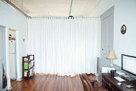 Tension Rods For Windows Ideas Curtains As Room Divider Maybe Use A Tension Rod To Prevent Holes