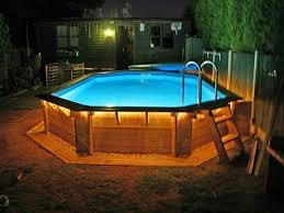 Pool Ideas For Small Backyards by Best 25 Above Ground Pool Lights Ideas On Pinterest Floating