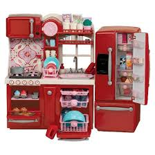 Red Kitchen Set - our generation gourmet kitchen playset target