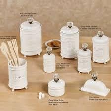 white canister sets kitchen vintage canister set antique white with ornate details vintage